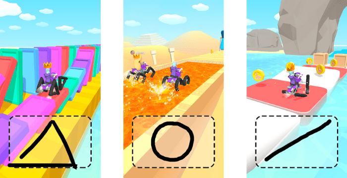 Scribble Rider Apk Screenshot 1