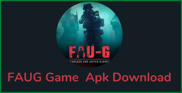 FAUG Game Apk Download